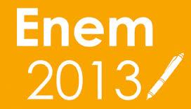 Provas e Caderno de questões Enem 2013