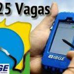7825 Vagas Temporárias para o IBGE